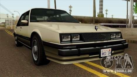 GTA 4 Willard II pour GTA San Andreas