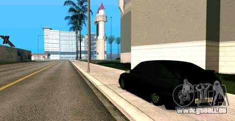 MIT 2112 BUNKER für GTA San Andreas linke Ansicht
