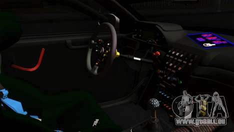 BMW M3 GTR 2001 Prototype Technology Group für GTA San Andreas rechten Ansicht