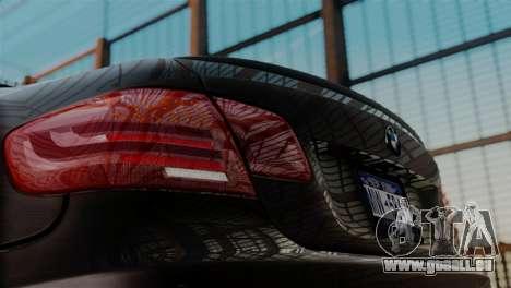 BMW M3 E92 GTS 2012 v2.0 Final pour GTA San Andreas vue de droite