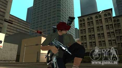 Guns Pack pour GTA San Andreas quatrième écran