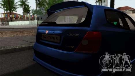 Honda Civic Type R EP3 pour GTA San Andreas vue de droite