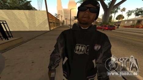 Ballas Skin Pack pour GTA San Andreas quatrième écran