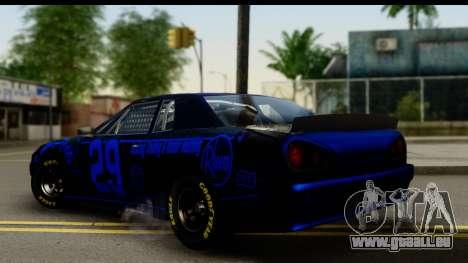 Elegy NASCAR PJ 2 für GTA San Andreas linke Ansicht