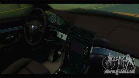 BMW M5 E39 Simply Cleaned für GTA San Andreas rechten Ansicht