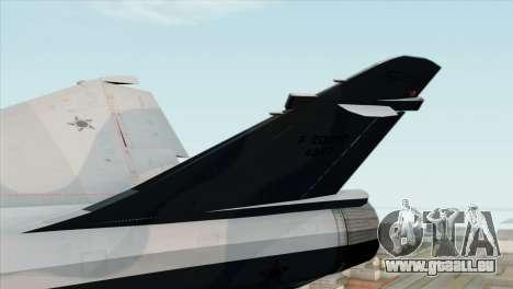 Dassault Mirage 2000 Forca Aerea Brasileira für GTA San Andreas zurück linke Ansicht
