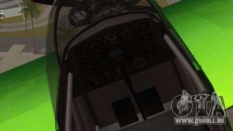 GTA 5 Stuntplane Spunck pour GTA San Andreas vue arrière