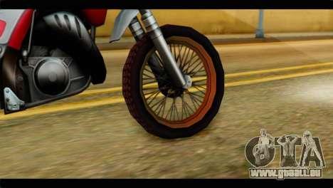 Trychaser 2000 pour GTA San Andreas sur la vue arrière gauche