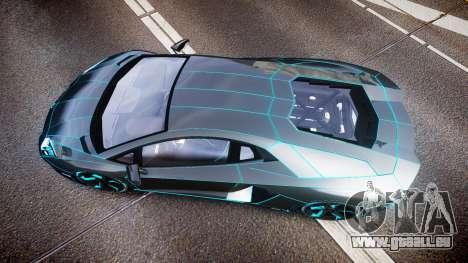 Lamborghini Aventador TRON Edition [EPM] Updated pour GTA 4 est un droit