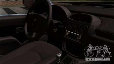 Renault Clio Mio 3P pour GTA San Andreas vue de droite