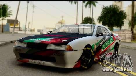 Elegy NASCAR PJ 2 für GTA San Andreas Innenansicht