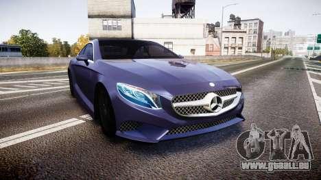 Mercedes-Benz S500 (C217) 2015 pour GTA 4