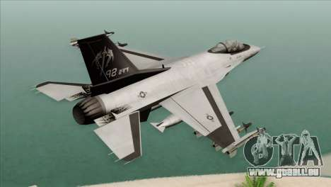 F-16C Fighting Falcon Wind Sword Squadron pour GTA San Andreas laissé vue