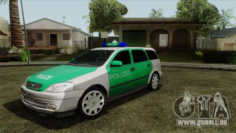 Opel Astra G 1999 Police für GTA San Andreas