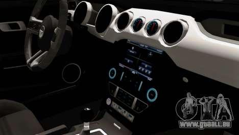 Ford Mustang RTR Spec 2 2015 pour GTA San Andreas vue de droite