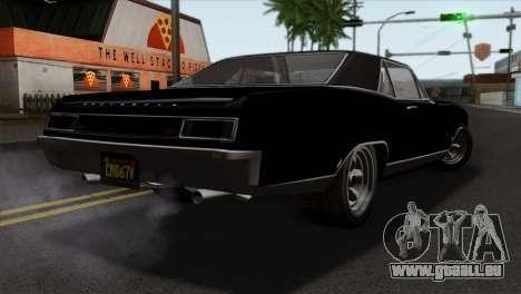 GTA 5 Albany Buccaneer für GTA San Andreas linke Ansicht