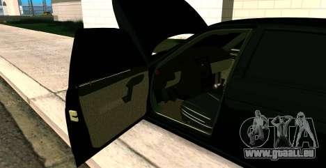 À L'AIDE DE 2112 BUNKER pour GTA San Andreas vue arrière
