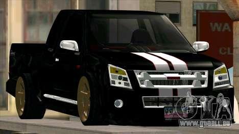 Isuzu D-Max X-Series pour GTA San Andreas vue de droite