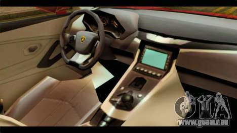 Lamborghini Estoque PJ pour GTA San Andreas vue de droite