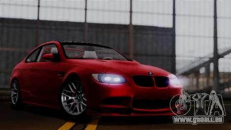 BMW M3 E92 GTS 2012 v2.0 Final pour GTA San Andreas