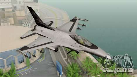 F-16C Fighting Falcon Wind Sword Squadron pour GTA San Andreas