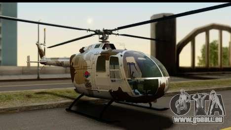 MBB Bo-105 Korean Army pour GTA San Andreas