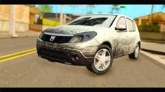 Dacia Sandero Dirty Version für GTA San Andreas