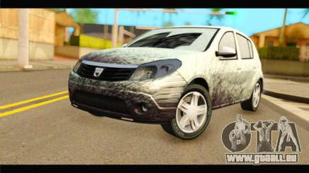 Dacia Sandero Dirty Version pour GTA San Andreas