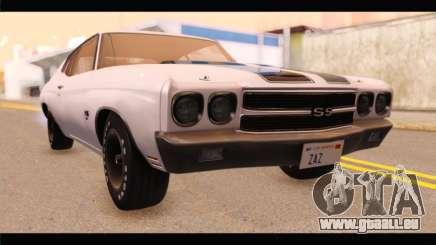Chevrolet Chevelle 1970 3D Shadow für GTA San Andreas