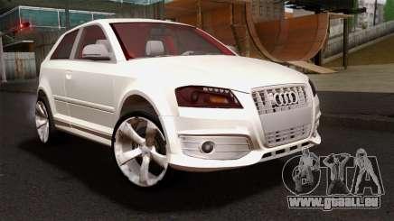 Audi S3 2011 für GTA San Andreas
