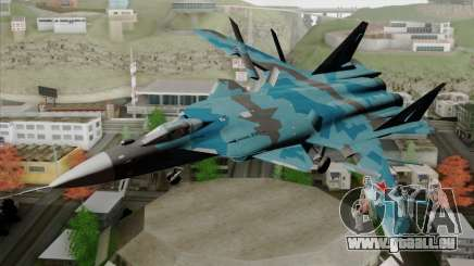 SU-47 Berkut Winter Camo pour GTA San Andreas