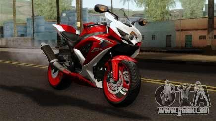 Suzuki GSX-R 2015 Red & White für GTA San Andreas