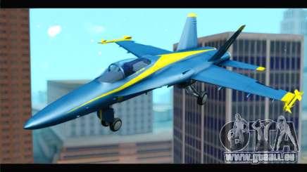 McDonnell Douglas FA-18 Blue Angel pour GTA San Andreas