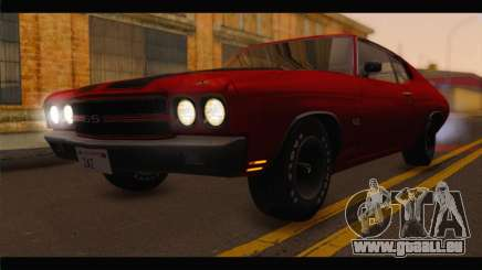 Chevrolet Chevelle 1970 Flat Shadow pour GTA San Andreas