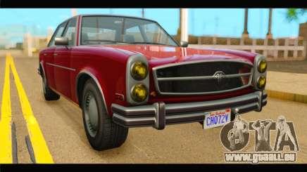 GTA 5 Benefactor Glendale IVF für GTA San Andreas