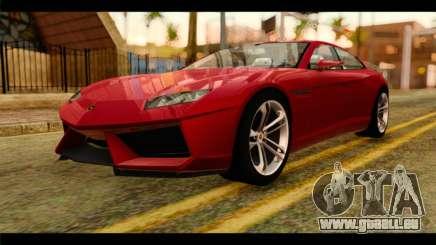 Lamborghini Estoque PJ für GTA San Andreas