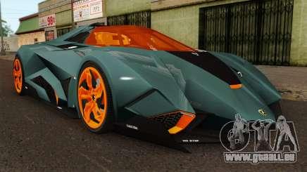 Lamborghini Egoista pour GTA San Andreas
