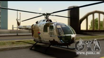 MBB Bo-105 Korean Army für GTA San Andreas