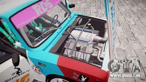 VAZ 2101 für GTA 4 Innen