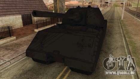 Panzerkampfwagen VIII Maus pour GTA San Andreas vue arrière