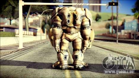 Hulkbuster Iron Man v2 pour GTA San Andreas deuxième écran