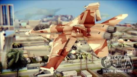 F-18D NSAWC für GTA San Andreas linke Ansicht