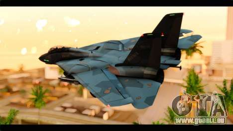 Grumman F-14D SuperTomcat Metal Gear Ray für GTA San Andreas linke Ansicht