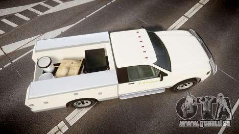 GTA V Vapid Utility Truck für GTA 4 rechte Ansicht