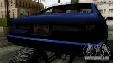 Monster Cadrona pour GTA San Andreas vue de droite