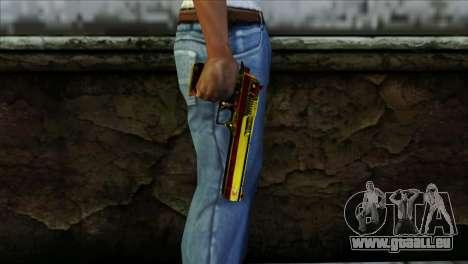 Desert Eagle Spanien für GTA San Andreas dritten Screenshot