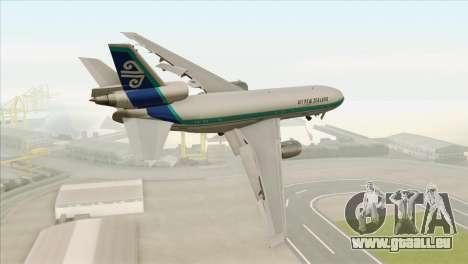 DC-10-30 Air New Zealand pour GTA San Andreas laissé vue