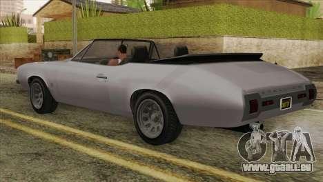 GTA 5 Declasse Stallion IVF für GTA San Andreas linke Ansicht