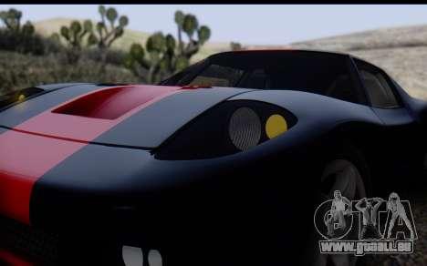 Bullet PFR v1.1 HD pour GTA San Andreas vue de dessus