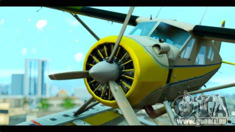 GTA 5 Sea Plane pour GTA San Andreas vue de droite